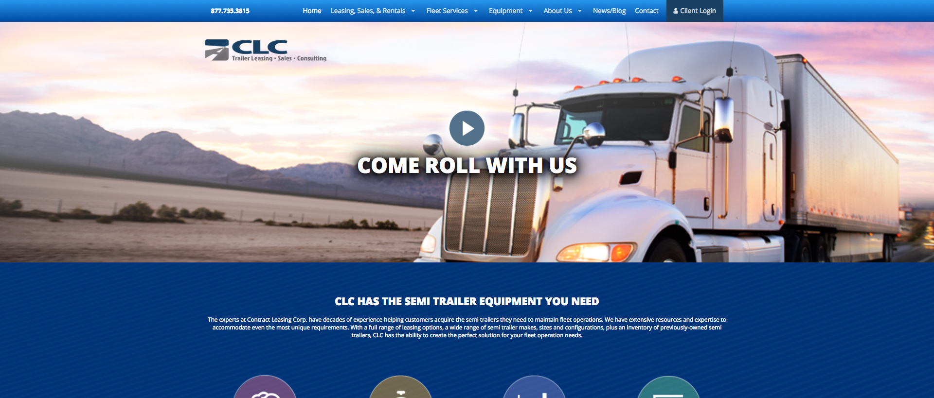 Contract Leasing Corp. Homepage